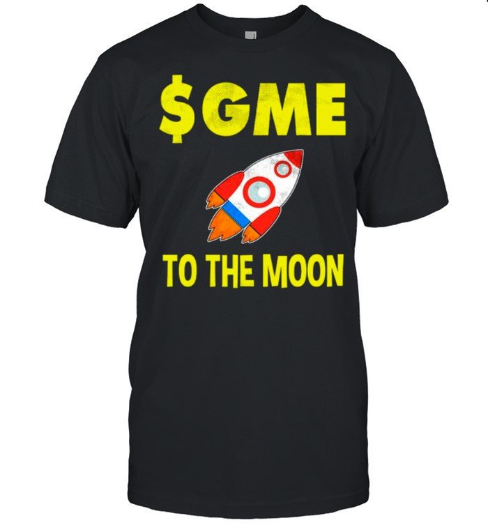 $GME To The Moon Ff GameStonk shirt Classic Men's T-shirt