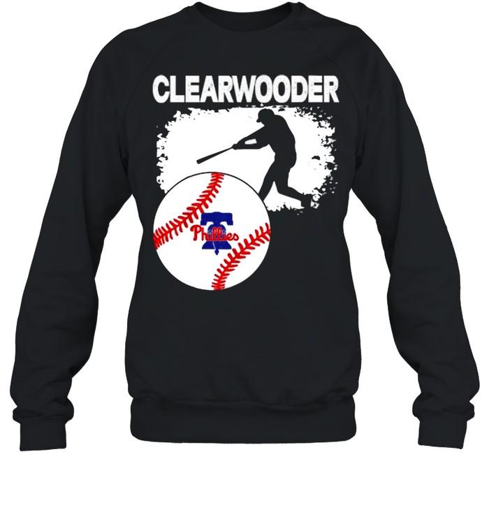 Clearwooder Philly Baseball Tee Clearwater  Unisex Sweatshirt