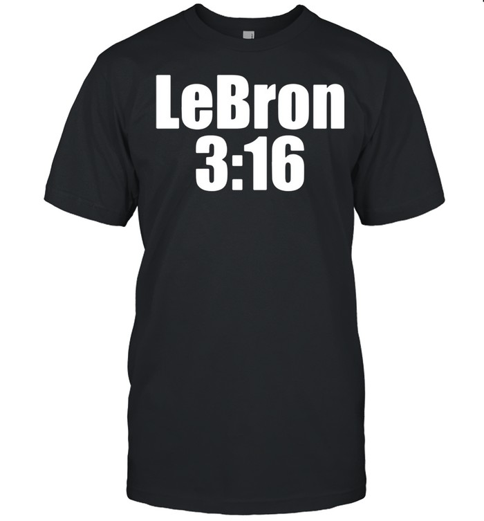 Lebron 316 Lebron James shirt Classic Men's T-shirt