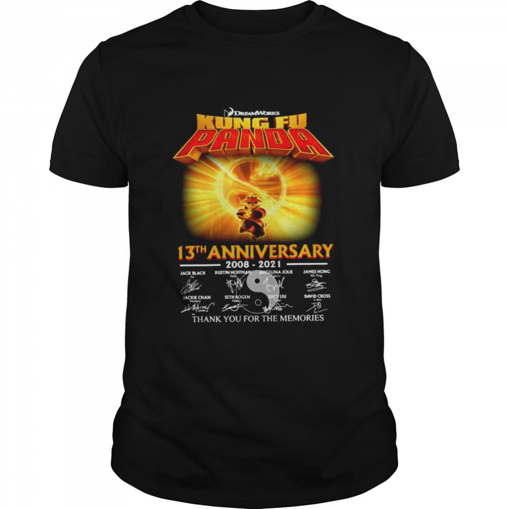 Dream Works Kung Fu Panda 13th ANniversary 2008 2021 thank you for the memories shirt Classic Men's T-shirt